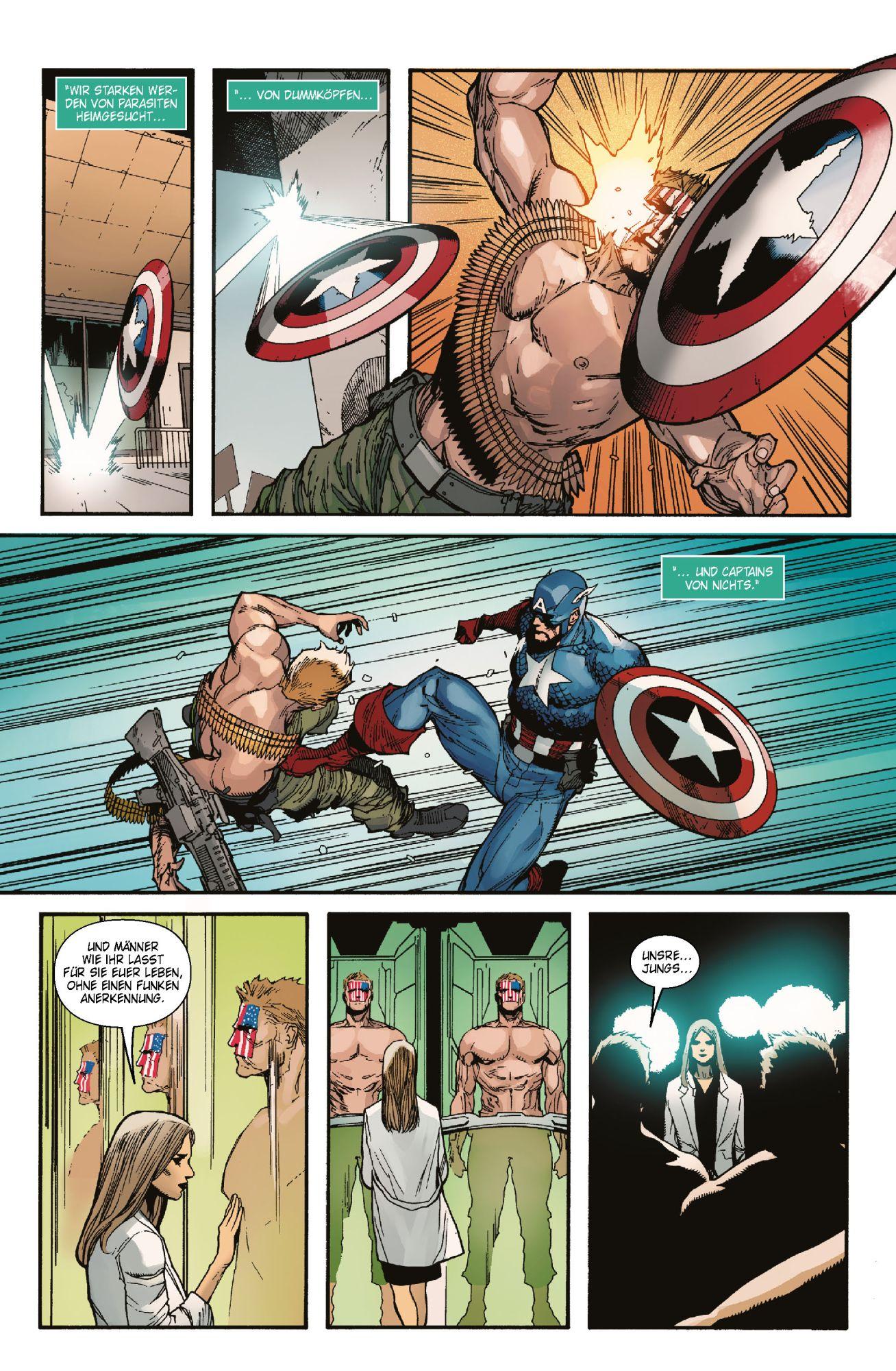 Marvel Comic SC Variant auf 333 Ex CAPTAIN AMERICA 1: Neuanfang lim