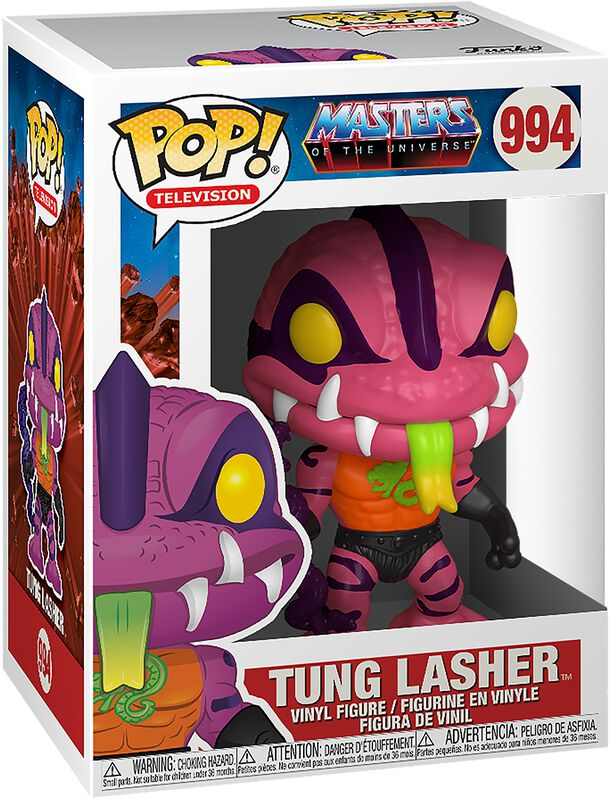 Masters of the Universe POP! Animation Vinyl Figur Tung Lasher 9 cm