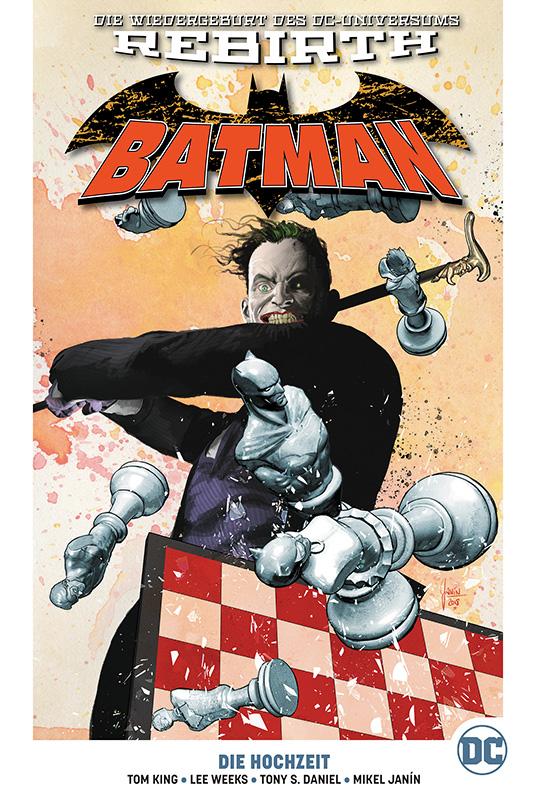 Batman Paperback 7: Die Hochzeit auf 222 Ex. lim. Hardcover