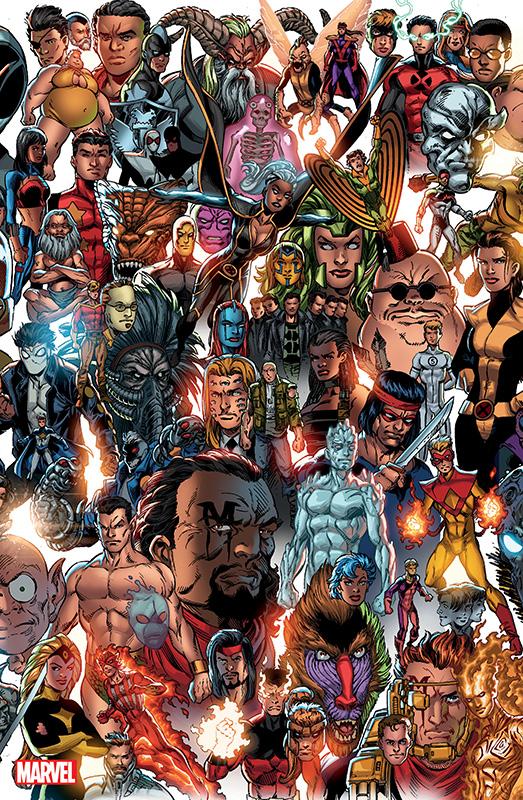 X-Men 2 Panorama Variant