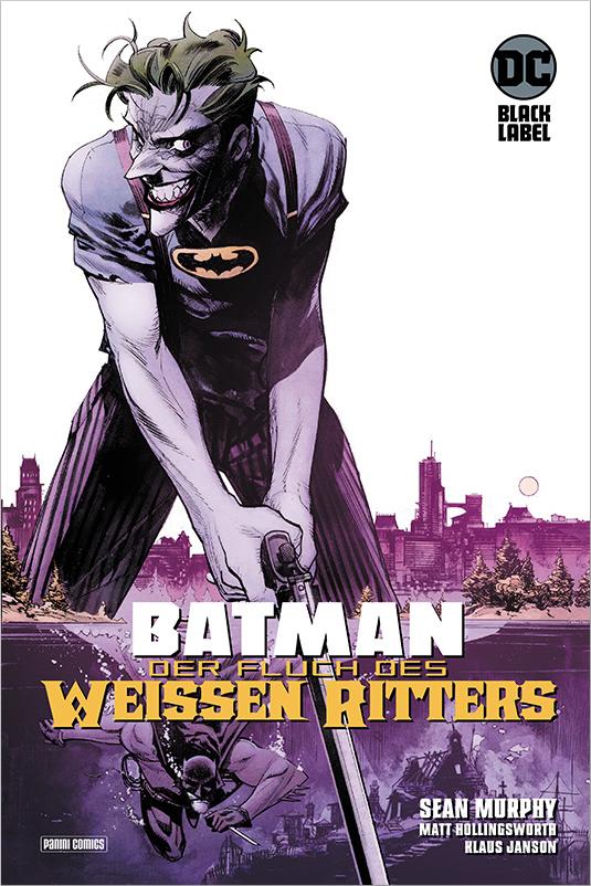 Batman: Der Fluch des Weißen Ritters auf 666 Ex. lim. Hardcover