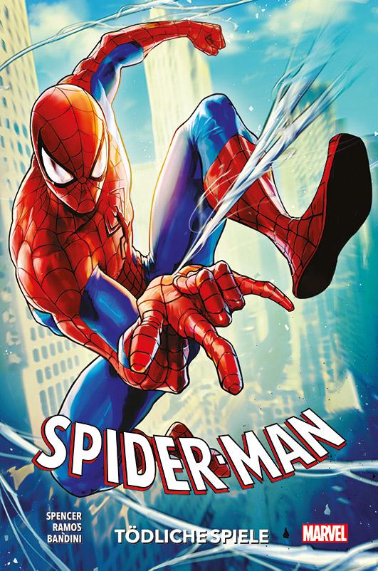 Spider-Man Paperback 2: Tödliche Spiele auf 150 Ex. lim. Hardcover