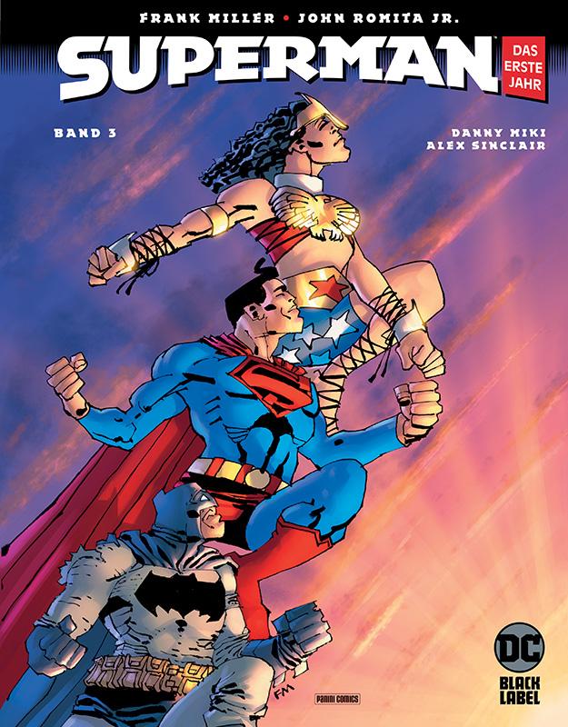 Superman: Das erste Jahr 3 auf 555 Ex. lim. Variant