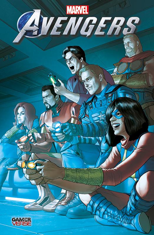 Marvel's Avengers: Die Vorgeschichte zum Videogame auf 333 Ex. lim. Gamescom Variant