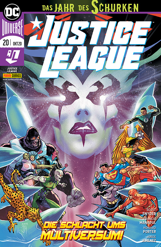 Justice League 20: Die Schlacht ums Multiversum!