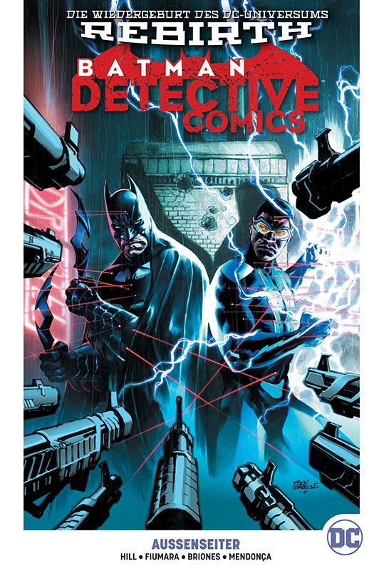 Batman: Detective Comics Paperback 8: Aussenseiter auf 222 Ex. lim. Hardcover