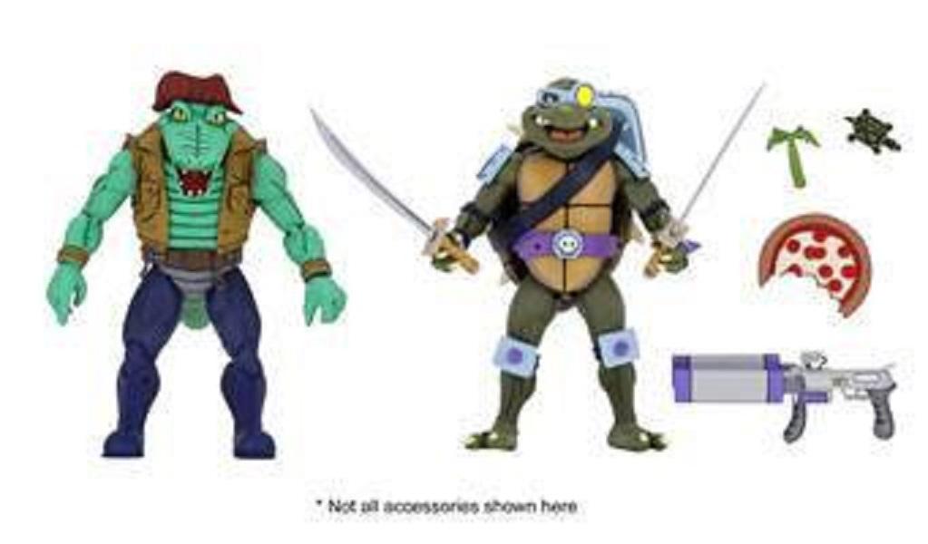 Teenage Mutant Ninja Turtles Actionfiguren Doppelpack Leather Head & Slash 18 cm