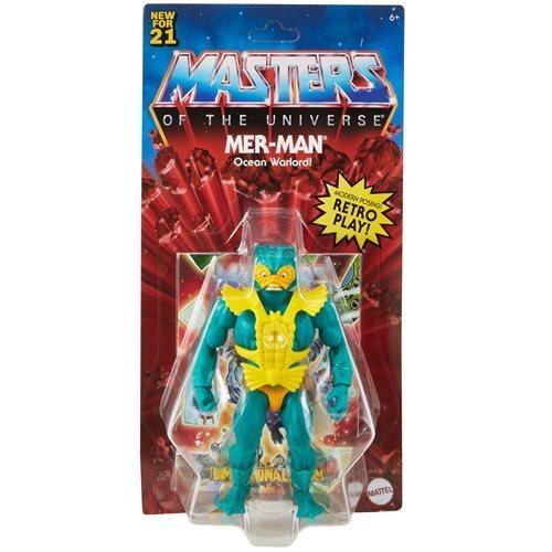 Masters of the Universe Origins Actionfigur 2021 Mer-Man 14 cm