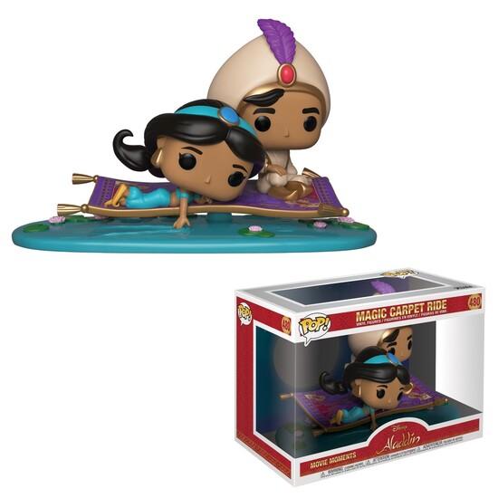 Aladdin POP! Movie Moments Vinyl Wackelkopf Figuren 2er-Pack Magic Carpet Ride 9 cm
