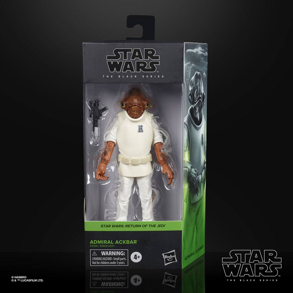 Star Wars Black Series Admiral Ackbar (Episode VI) 15 cm 2020 Wave 3