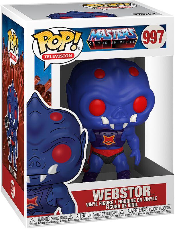 Masters of the Universe POP! Animation Vinyl Figur Webstor 9 cm