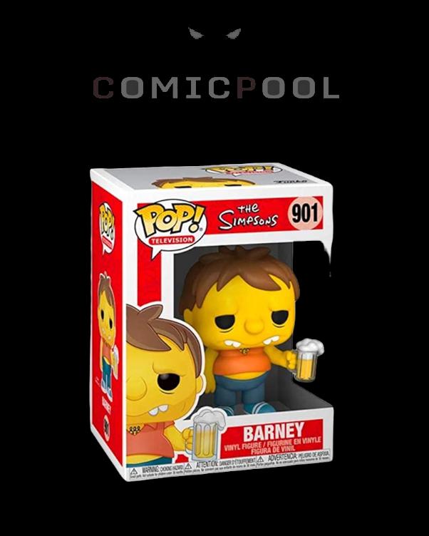 Simpsons POP! Animation Vinyl Figur Barney 9 cm
