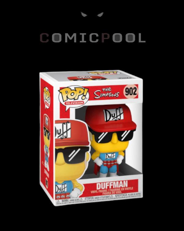 Simpsons POP! Animation Vinyl Figur Duffman 9 cm