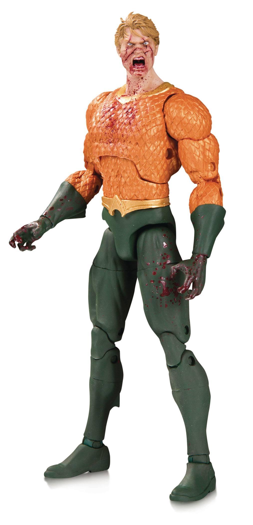 DC Essentials Actionfigur Aquaman (DCeased) 18 cm