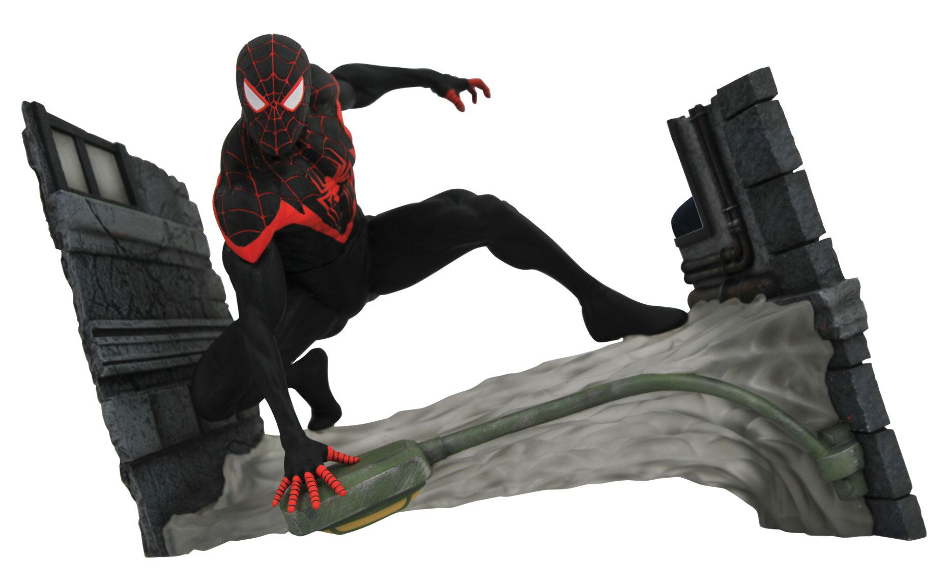 Marvel Comic Gallery PVC Statue Miles Morales Spider-Man 18 cm
