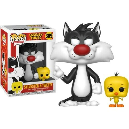 Looney Tunes POP! Television Vinyl Figur Sylvester & Tweety 9 cm