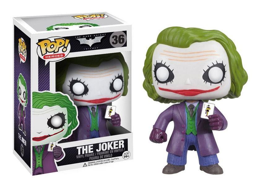 DC Comics POP! Vinyl Figur The Joker 9 cm