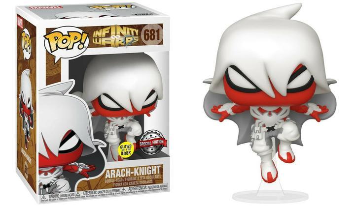Marvel Infinity Warps Funko POP! Arach-Knight Glow in the Dark 9cm