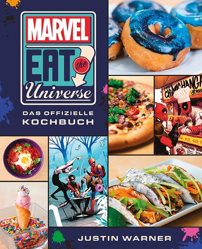 Marvel: Eat the Universe – Das offizielle Kochbuch