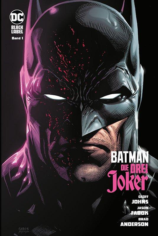 Batman: Die drei Joker 1 (von 3) auf 666 Ex. lim. HC-Variant