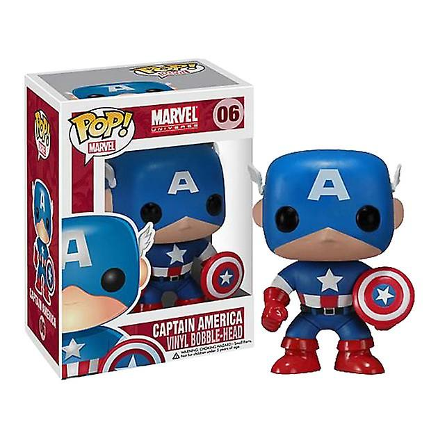 "Funko Pop – Marvel"" Captain America 9cm"