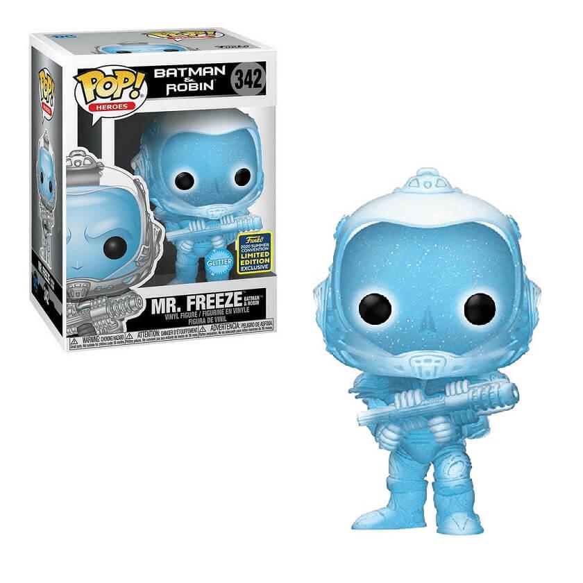 Funko Pop – Batman & Robin – Mr Freeze 342 – 2020 Summer Convention Limited Edition Exclusive