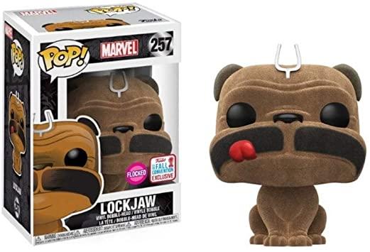 Funko POP – Inhumans – Lockjaw Flocked Marvel NYCC 2017 Exclusive