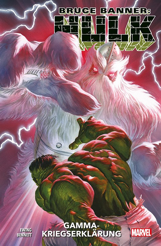 Bruce Banner: Hulk 6 – Gamma-Kriegserklärung