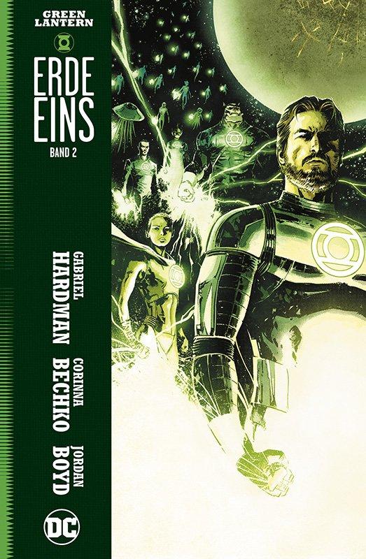 Green Lantern: Erde Eins, Bd. 2 auf 222 Ex. lim. Hardcover