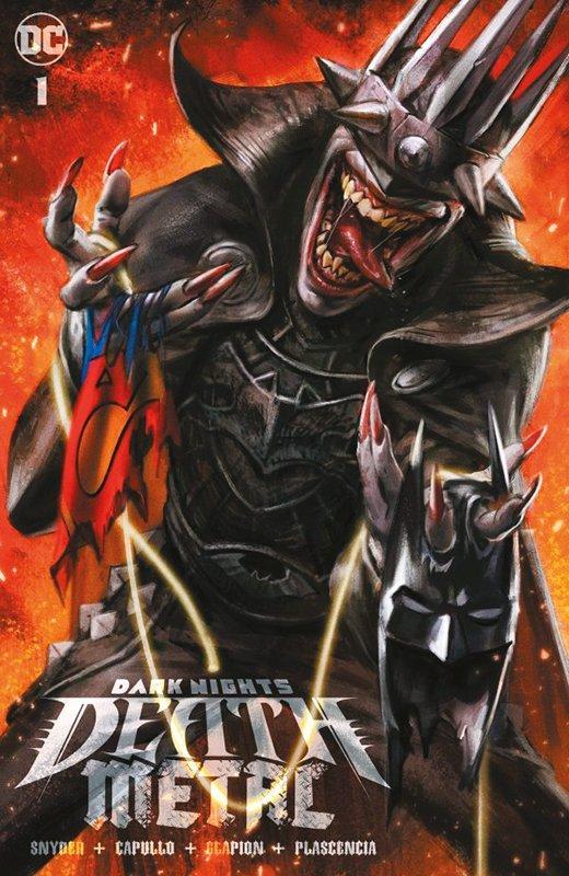 Batman: Death Metal 1 (von 7) auf 999 Ex. lim. Variant A