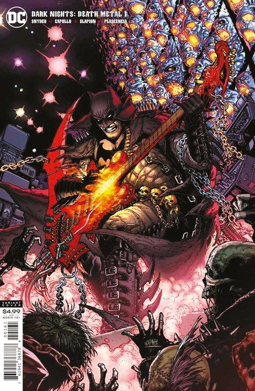 Batman: Death Metal 1 (von 7) auf 333 Ex. lim. Variant B