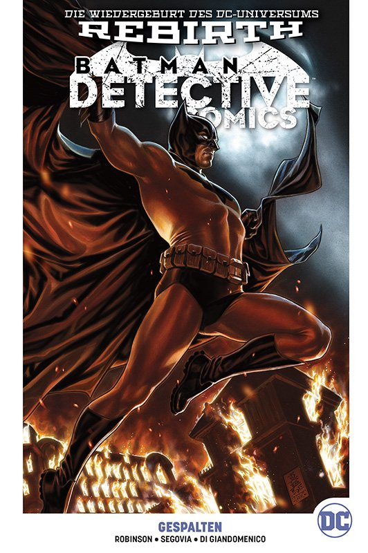 Batman: Detective Comics (Rebirth) PB 9: Gespalten auf 222 Ex. lim. Hardcover