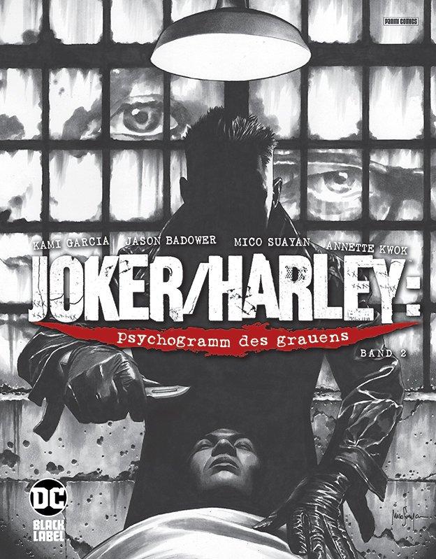 Joker/Harley: psychogramm des grauens 2 (von 3) auf 555 Ex. lim. Hardcover