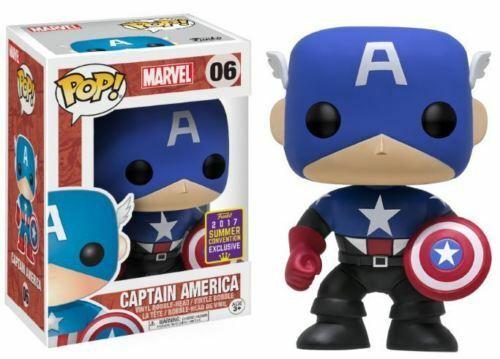Funko Pop! Captain America (Bucky)- 2017 Funko Summer Convention Exclusive 9cm