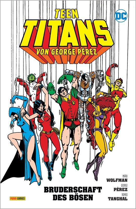 Teen Titans von George Pérez 2: Die Bruderschaft d. Bösen auf 333 Ex. lim. Hardcover