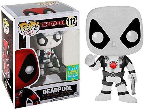 Funko Pop! Marvel – Deadpool Thumbs up – Black & White – SDCC 2016 Exclusive 9cm