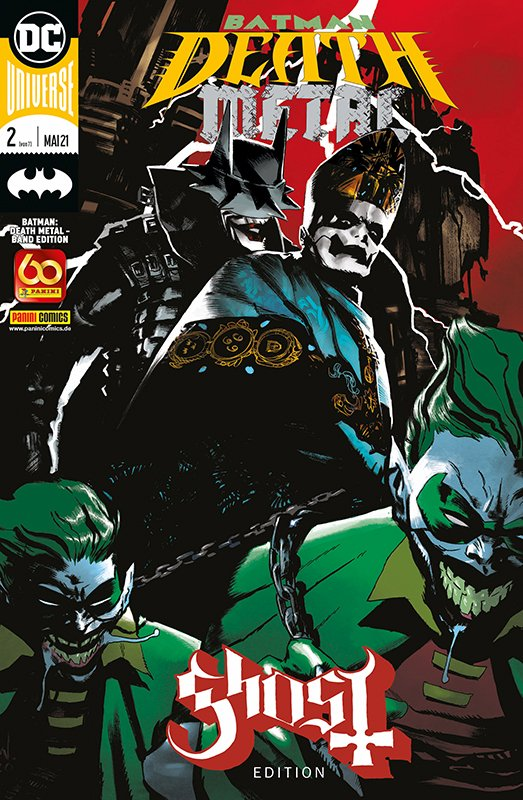 Batman: Death Metal – Band Edition 2 (von 7) – Ghost