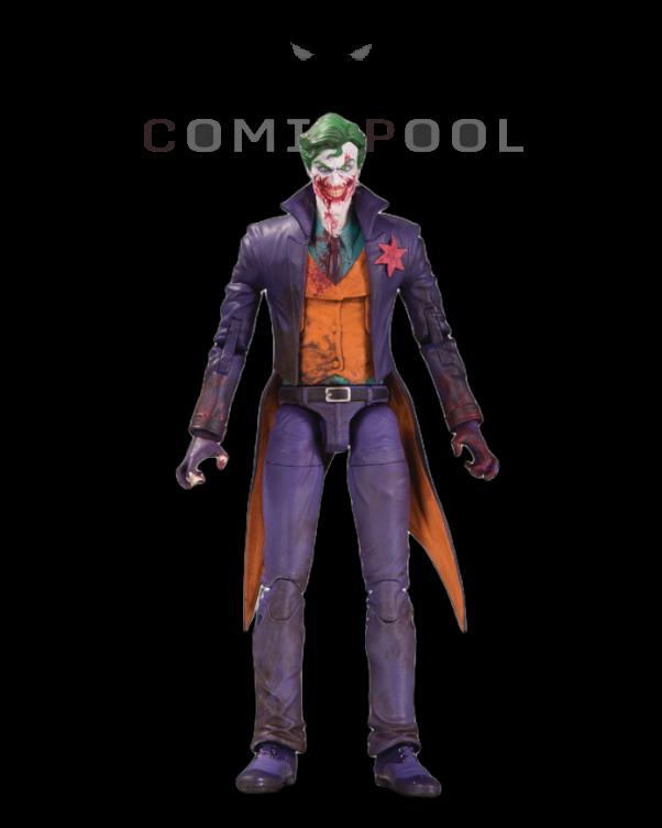 DC Essentials Actionfigur The Joker (DCeased) 18 cm