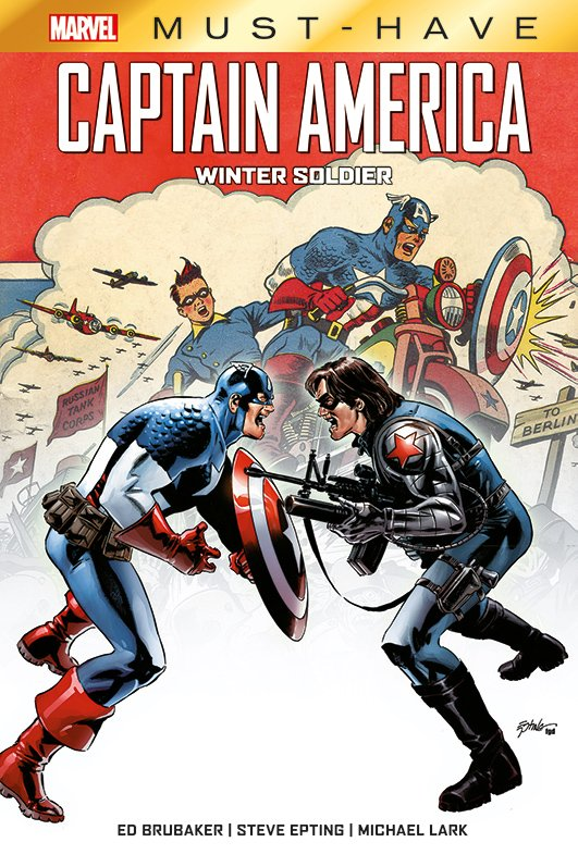 Marvel Must-Have – Captain America – Winter Soldier