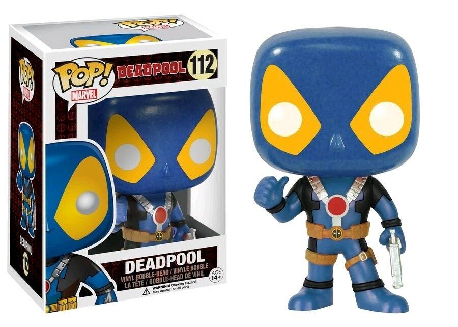 Funko Pop! Marvel – Deadpool Thumbs up – Blue & Yellow – Exclusive 9cm