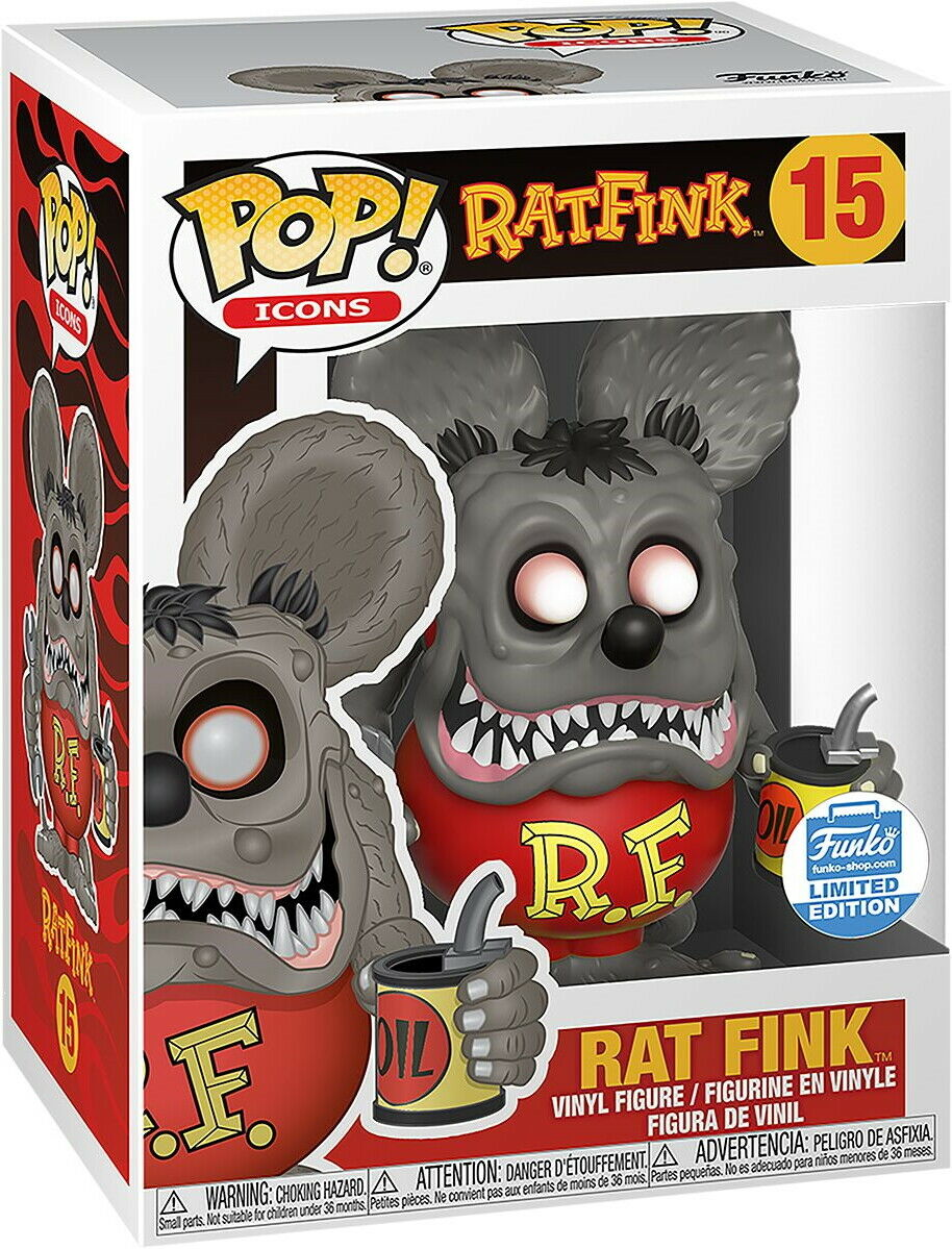 Funko Pop! – Rat Fink – Funko Exclusive – Limited Edition 9cm