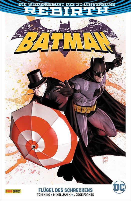 Batman (Rebirth) PB 9: Flügel des Schreckens