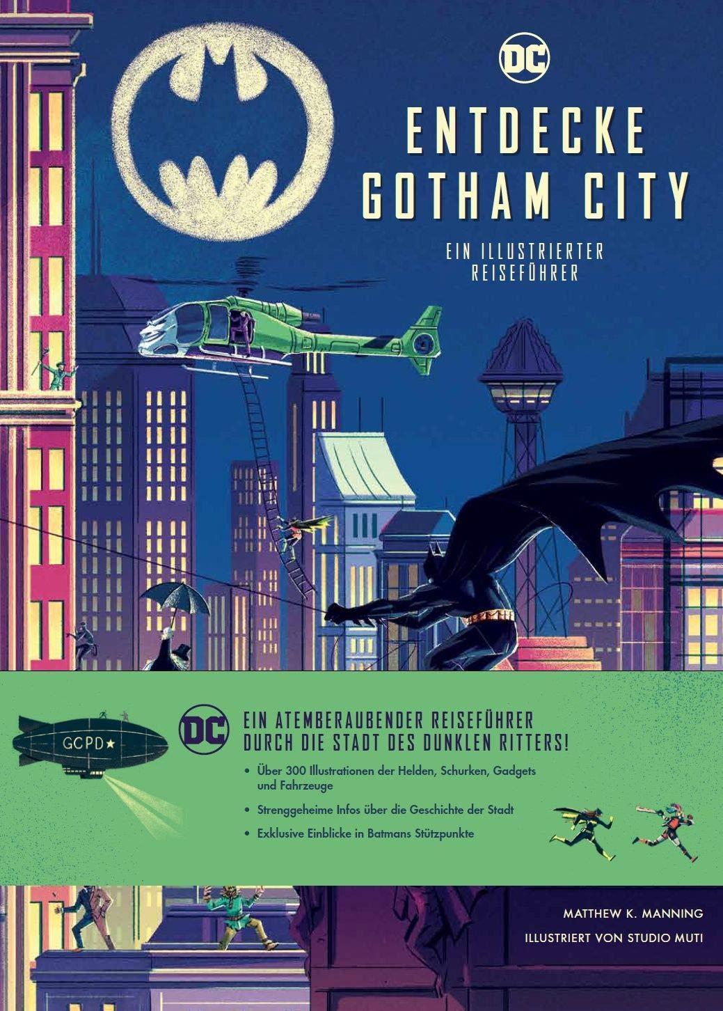 Entdecke Gotham City – Ein illustrierter Reiseführer