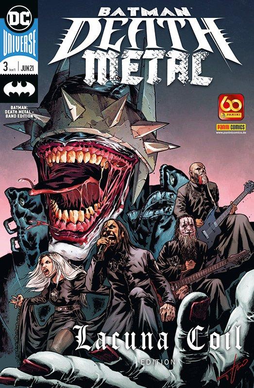 Batman: Death Metal – Band Edition 3 (von 7) – Lacuna Coil