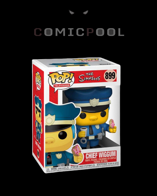 Simpsons POP! Animation Vinyl Figur Chief Wiggum 9 cm