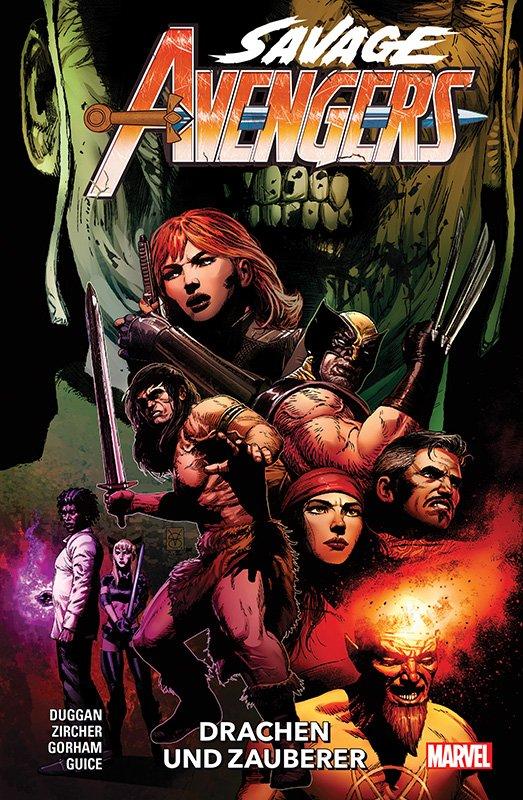 Savage Avengers 3: Drachen und Zauberer