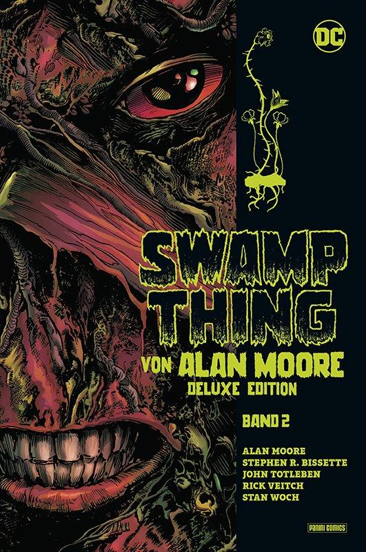 Swamp Thing von Alan Moore – Deluxe Edition 2 (von 3)