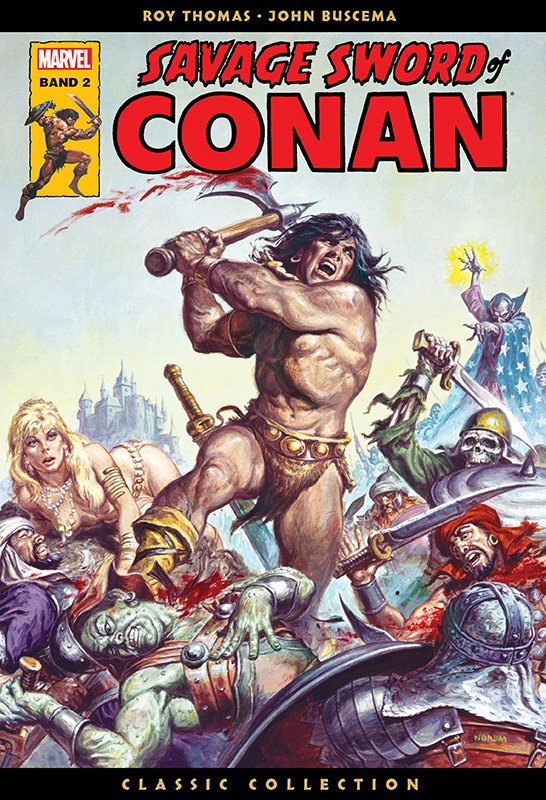 Savage Sword of Conan – Classic Collection 2